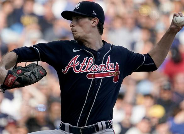Max Fried's Braves are home underdogs in the Los Angeles vs Atlanta Odds for Game 1.