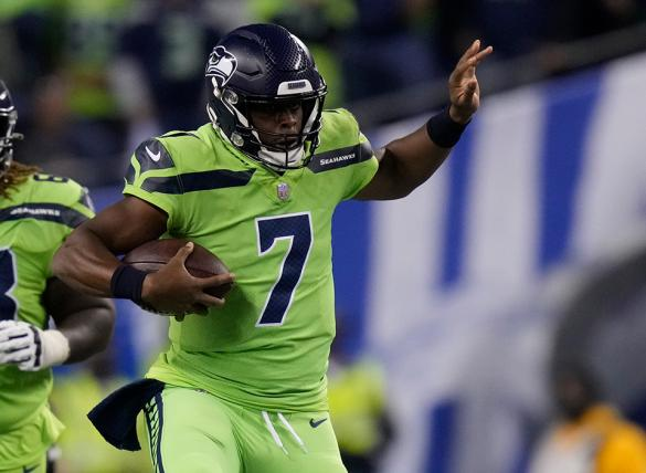 Geno Smith's Seahawks take on the Steelers and here are the Week 6 SNF Prop Bets.
