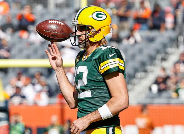 Aaron Rodgers' Packers are favored in the Washington vs Green Bay odds for Week 7.