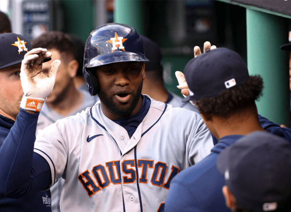 Houston Astros Yordan Alvarez could punch a World Series ticket tonight