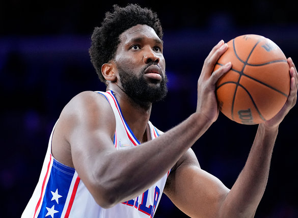 Joel Embiid & 76ers are home underdogs against the Brooklyn Nets.