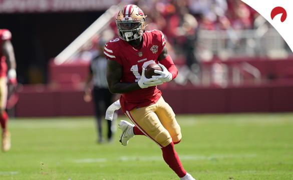 Deebo Samuel's 49ers take on the Colts and here are the Week 7 SNF Prop Bets.