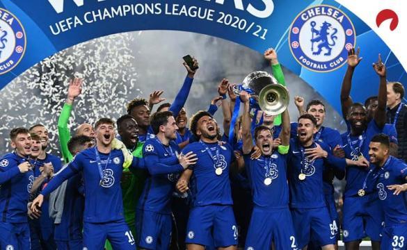 Apostas futuras na Liga dos Campeões da Europa 2021/2022