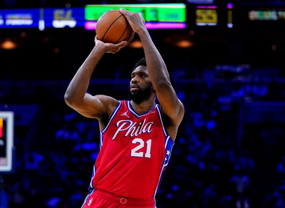 Joel Embiid's 76ers are favored in the Philadelphia vs New York odds for Oct. 26.