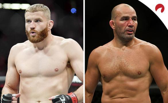 Jan Blachowicz (izquierda) es el favorito en las cuotas del UFC 267 en el evento principal según las casas de apuestas.