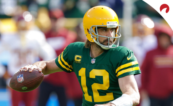 The Packers QB tops our TNF prop bets